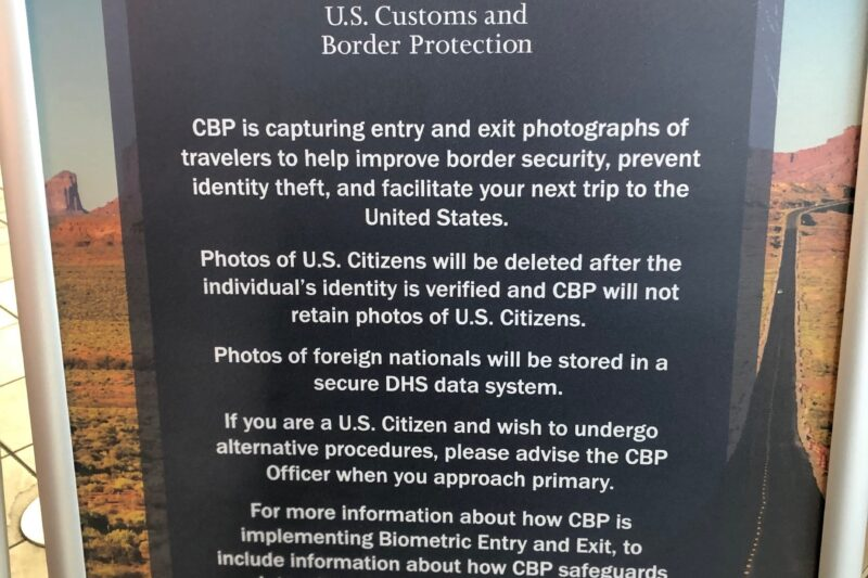 A Border Officer Told Me I Couldn't Opt Out of the Face Recognition Scan. They Were Wrong.