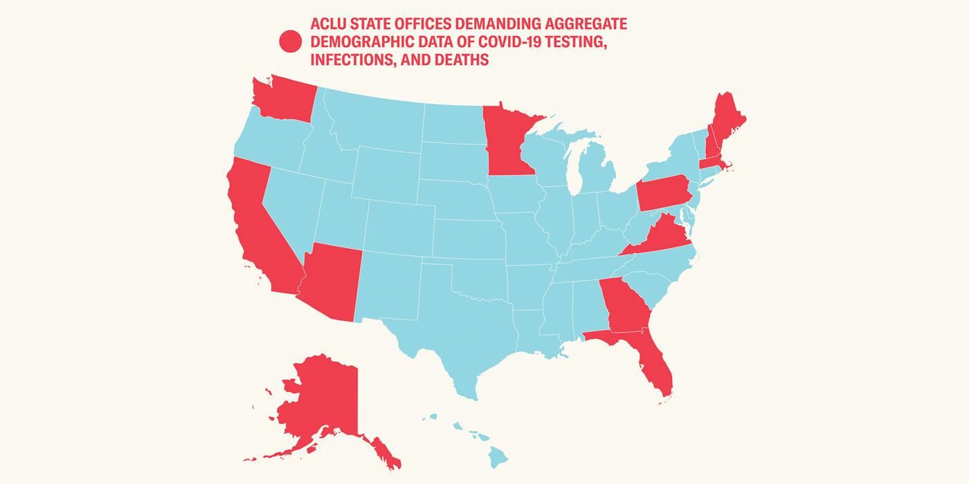 We're demanding states release demographic data.