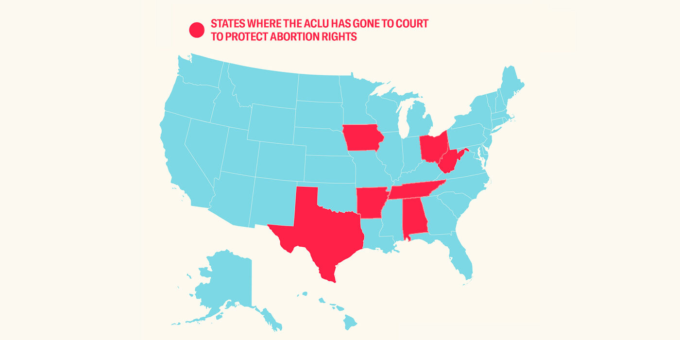 We're in 7 states defending abortion rights.