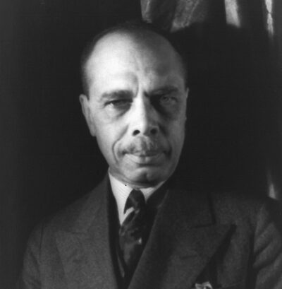 James Weldon Johnson, seen here in 1932.